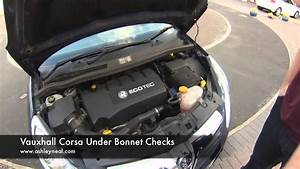 Vauxhall Corsa Under Bonnet Checks