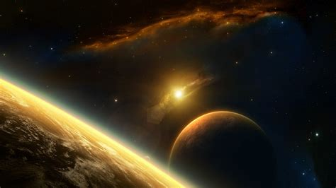 Planet Universe Animated Wallpaper - planets hd wallpaper background image 1920x1080 id
