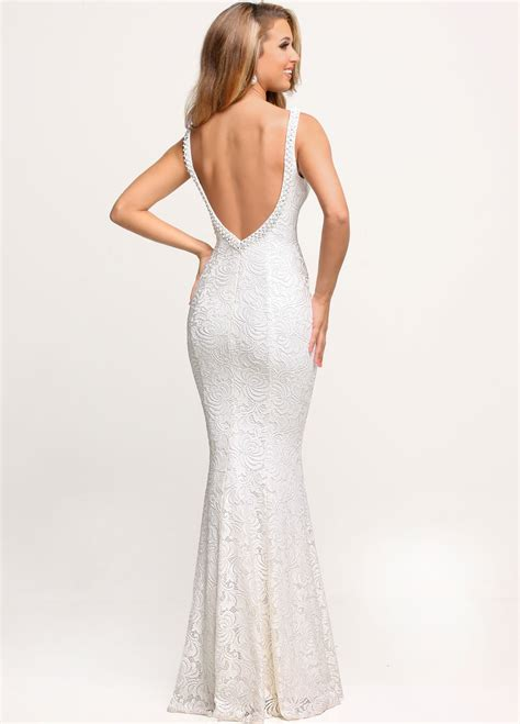 Invited to an All-White Wedding? Wear your Prom Gown ...