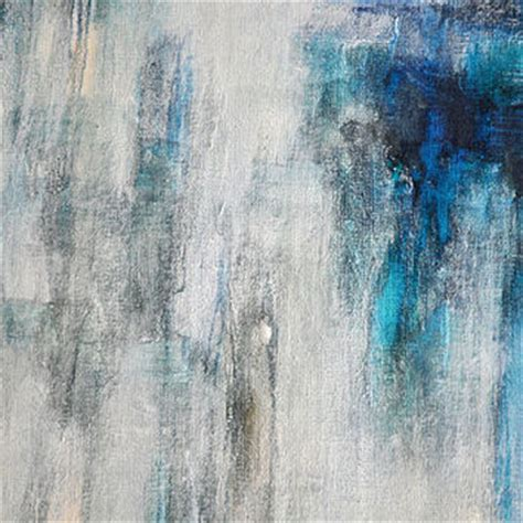 modern blue painting original abstract painting on panel from abstractartm on etsy