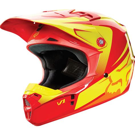 red motocross helmet clearance fox 2015 youth v1 imperial motocross helmet