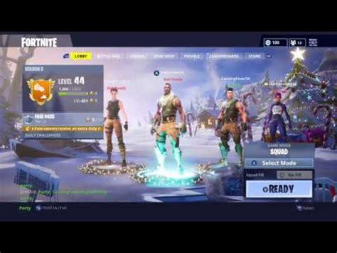 fortnite season    lobby screen youtube