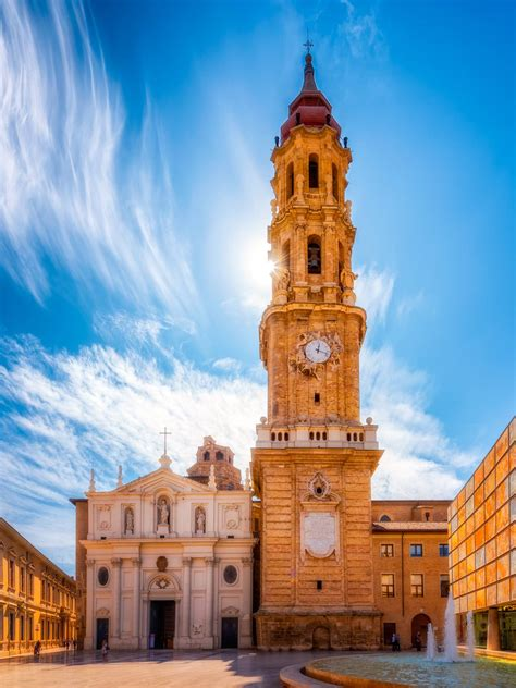 Zaragoza, also known in english as saragossa, is the capital city of the zaragoza province and of the autonomous community of aragon, spain. The Cathedral of the Saviour of Zaragoza (La Seo) | Spain ...