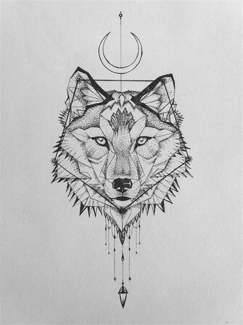 Geometric wolf tattoo. #geometrictattoos | Geometric wolf tattoo, Geometric wolf, Geometric tattoo