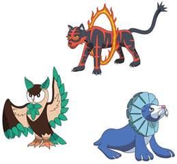 Sun Moon and Pokemon Evolutions