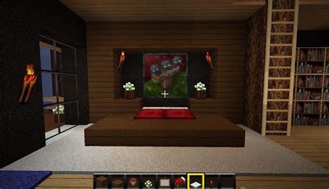 chambre de survie création minecraft