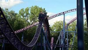 Bizarro Roller Coaster Off Ride POV Superman Ride of Steel ...