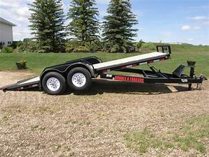 Double A Hyd Tilt Trailer