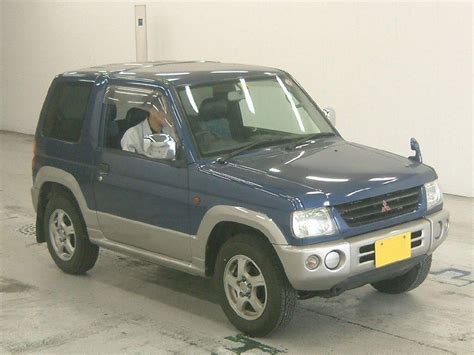 mitsubishi mini 1999 mitsubishi pajero mini pictures information and