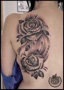 Rose Noir Tatouage Tatouage Rose Noire Tatouage De Femme Tatouage
