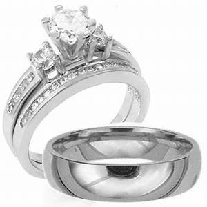 silver wedding rings for men and women with diamonds ipunya With men and womens wedding rings