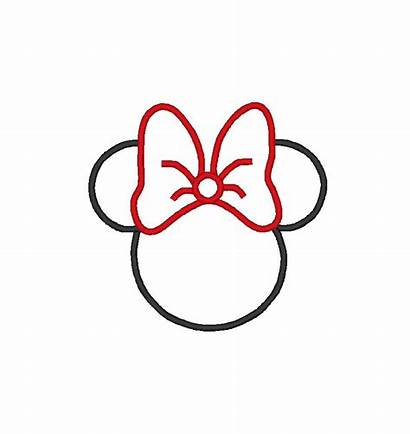 Mouse Clipart Mickey Silhouette Minnie Clip Head