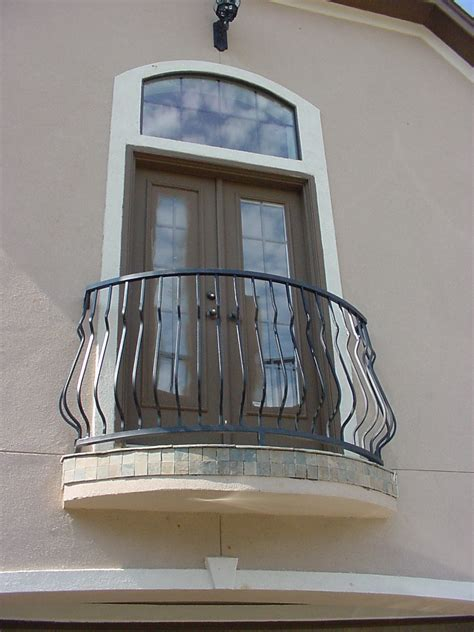 outdoor iron stair railing railings  steps beautifying