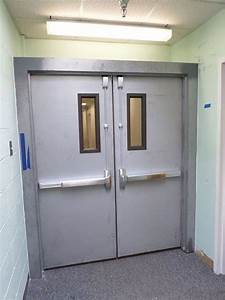 Parker Commercial Interior Double Doors