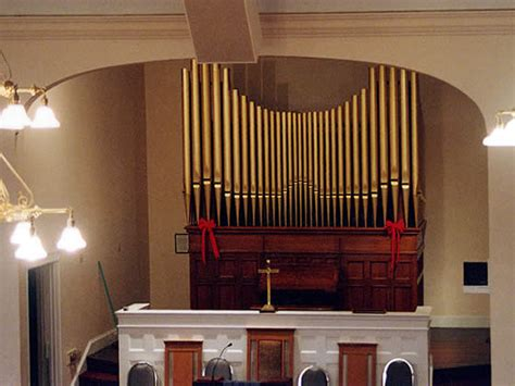 Andrew Smith Pipe Organs ~ First Congregationals Estey
