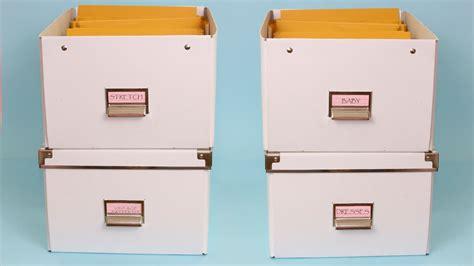 Sewing Pattern Storage Box - Listitdallas