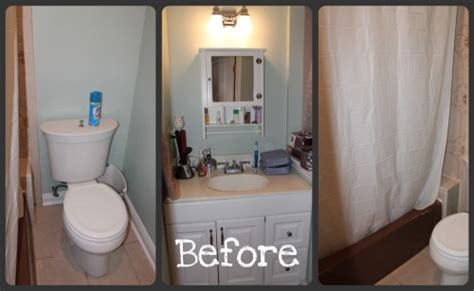 bathroom makeover with better homes and gardens product