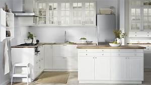 Cuisine Blanche Et Bois Ikea : dossier les cuisines ikea ~ Dailycaller-alerts.com Idées de Décoration