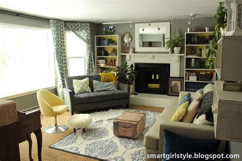 and in livingroom smartgirlstyle living room makeover