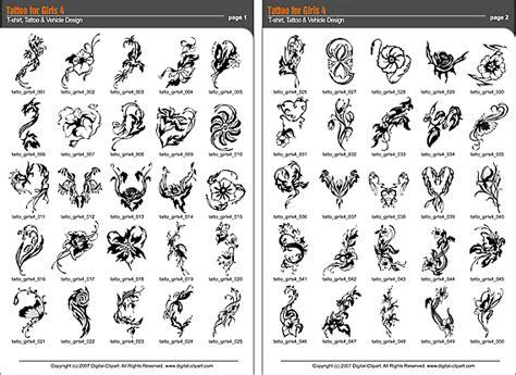 Tattoo Catalog tattoo  girls  extreme vector clipart 569 x 415 · gif
