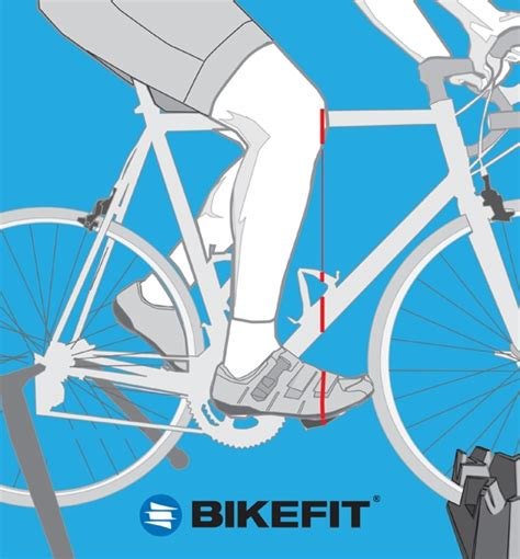 How Fit Road Bicycle Starting With The Foot Pedal