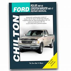 Chilton Repair Manual For 2004 Ford F-150 Heritage