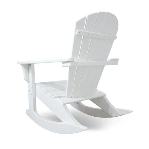 Polywood Seashell Adirondack Rocking Chair by Polywood Seashell Adirondack Rocking Chair 6760f Save 31