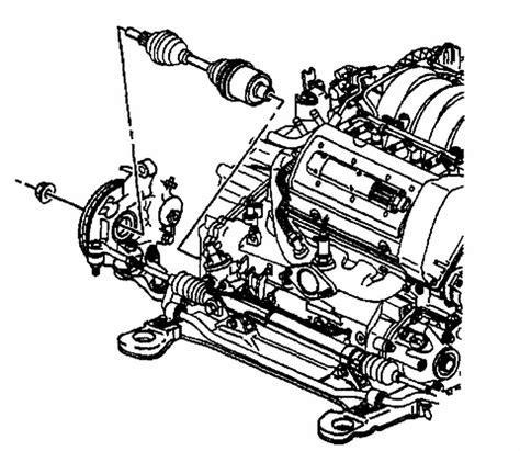 99 Oldsmobile Alero Engine Diagram by 1999 Oldsmobile Intrigue Transmission Diagram