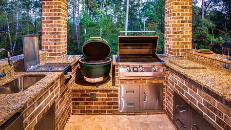kitchen island with oven top 5 grills for your outdoor kitchen creekstone outdoor