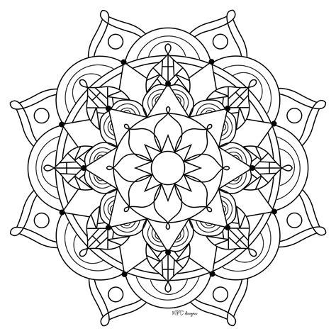 coloriage mandala lion en ligne gratuit imprimer avec