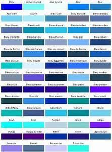 palette de couleurs orange vert de gris bleu petrole With nuances de bleu peinture