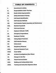 msds table of contents brokeasshomecom With create sds