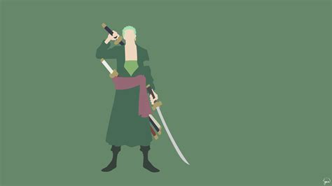 zoro  piece wallpaper  greenmapple daily anime art