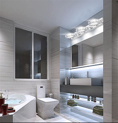Cool Modern Bathroom Mirrors by Modern K9 Led Bathroom Make Up Mirror Light Cool