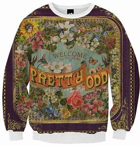 Shop Panic! At The Disco Pretty. Odd. Sweatshirt Ribbed ...