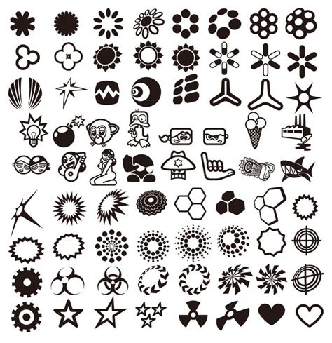 vector design elements collection free vector graphics all free web resources for designer