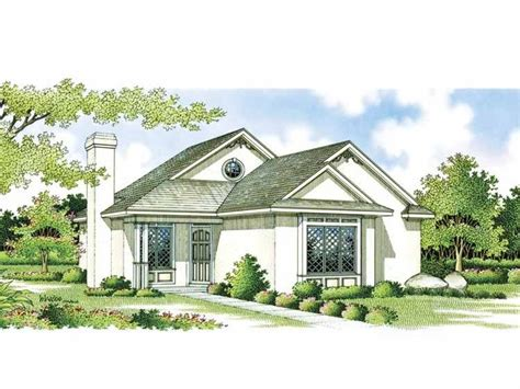 Eplans Bungalow House Plan  Smart Layout  984 Square