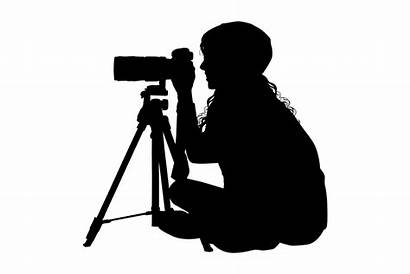 Camera Woman Svg Silhouette Photographer Young Aid