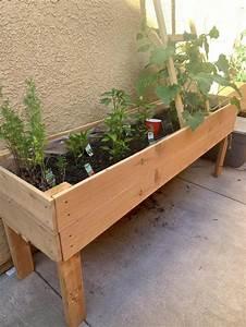 Pin, On, Raised, Planter, Boxes