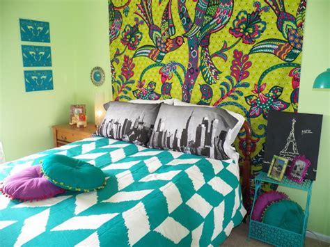 Bohemian Chic Teenage Bedroom