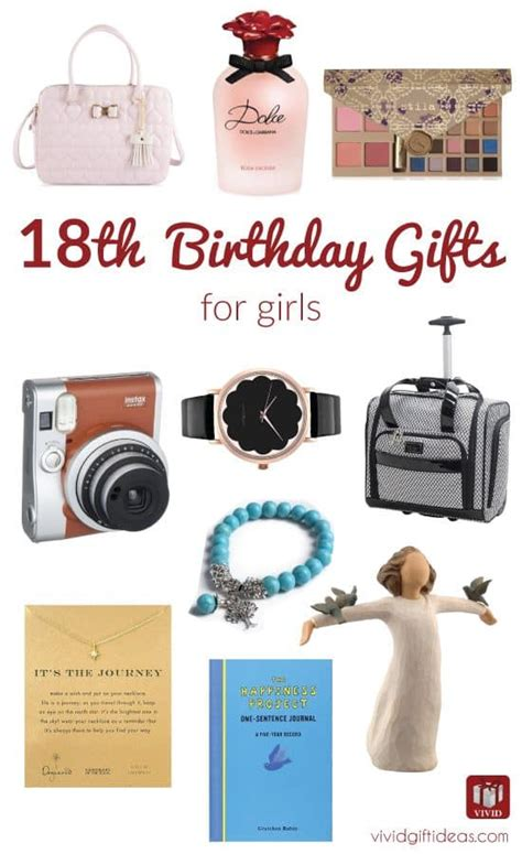 Best 18th Birthday Gifts For Girls Vivid39s