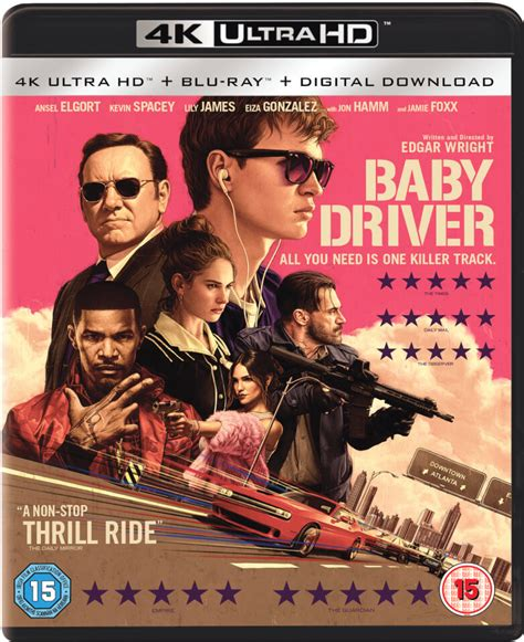 baby driver  ultra hd blu ray zavvi