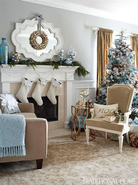 Blue And Silver Living Room by Top Blue And White Blue And Silver Christmas Decorations