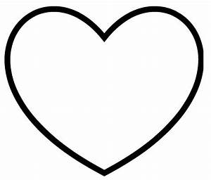 hearts template free clipart best With full page heart template