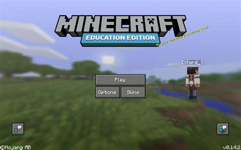 minecraft eduelfie minecraft education edition beta starts