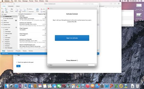 Office 365 Outlook On Mac by Office 365 Won T Activate Outlook For Mac Microsoft
