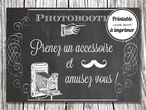 Affiche photobooth à imprimer par SweetyCreations sur Etsy   *Photobooth*   Pinterest   Mariage
