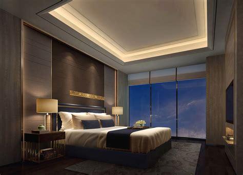 recessed master bedroom ceiling  hidden lights