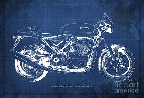 Norton Commando 961 Backgrounds by 2012 Norton Commando 961 Cafe Racer Motorcycle Blueprint