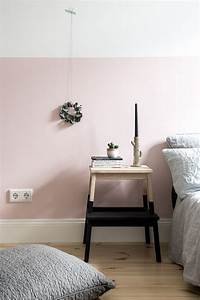 Die Neue Wand : eine rosa wand f r das schlafzimmer neue bettw sche aus leinen schlafzimmer bedroom ~ Markanthonyermac.com Haus und Dekorationen